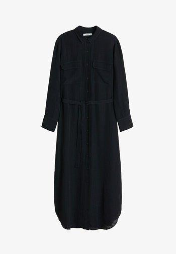 NINGBOX-I - Shirt dress - black