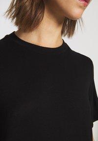 Monki - KARINA DRESS - Jersey dress - black - 5