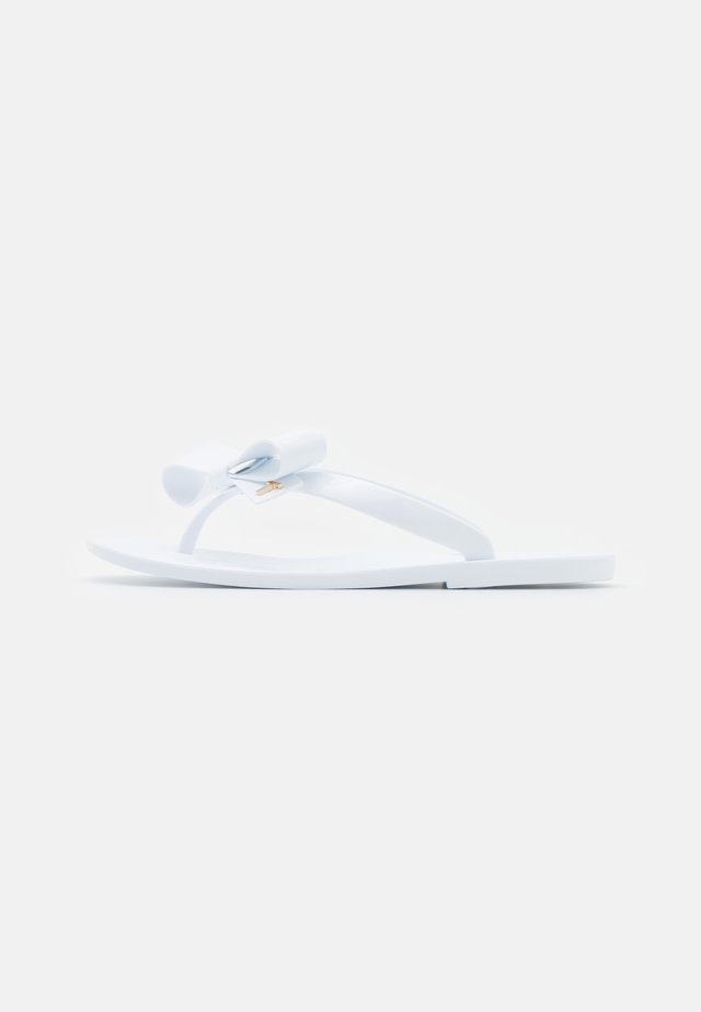 BEJOUW - Tongs - white