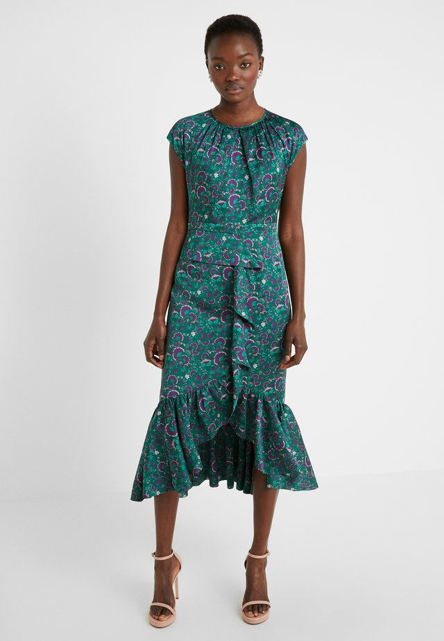 EXCLUSIVE DRESS - Juhlamekko - green