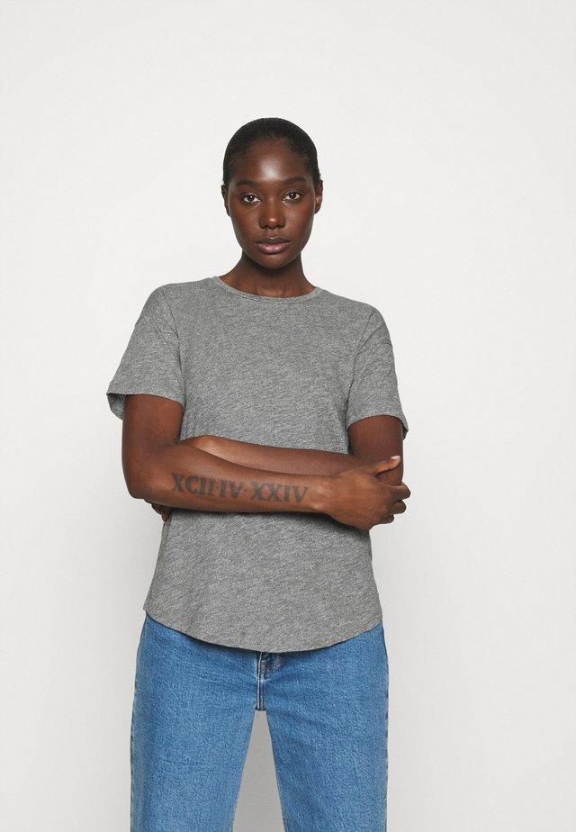 WHISPER CREWNECK TEE - T-Shirt basic - mercury