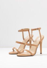 4th & Reckless - JULES - Sandaler med høye hæler - nude - 4