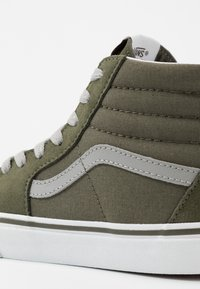 Vans - SK8 - Sneakersy wysokie - grape leaf/drizzle - 2