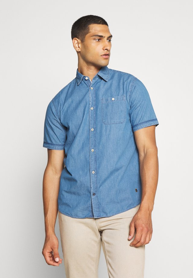Shirt - light blue denim