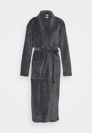 FLUFFY ROBE - Dressing gown - black
