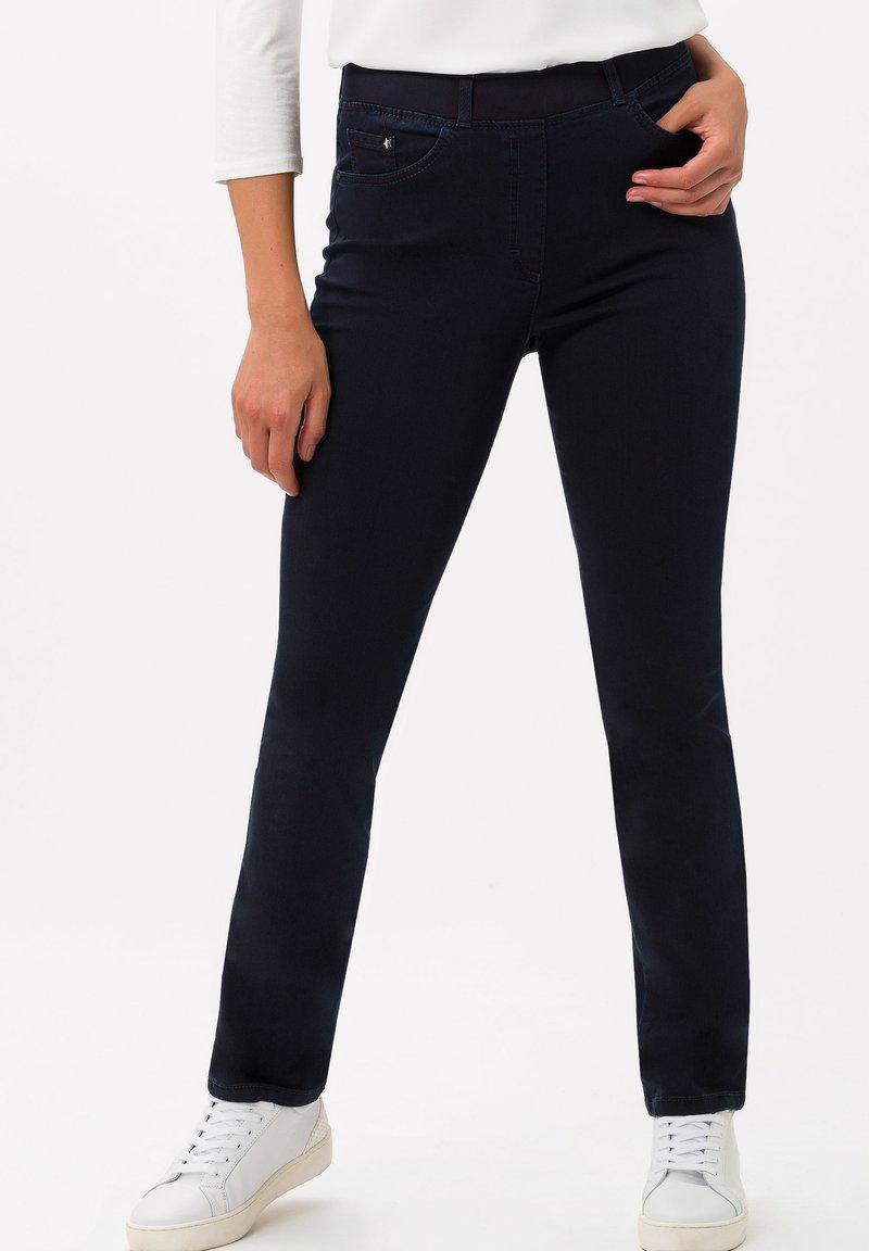BRAX - STYLE LAVINA - Slim fit jeans - dark blue