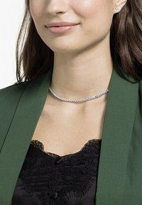 Swarovski - TENNIS DELUXE SET - Earrings - white - 0