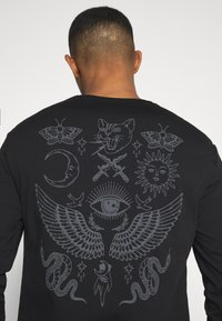 YOURTURN - UNISEX - Long sleeved top - black - 5