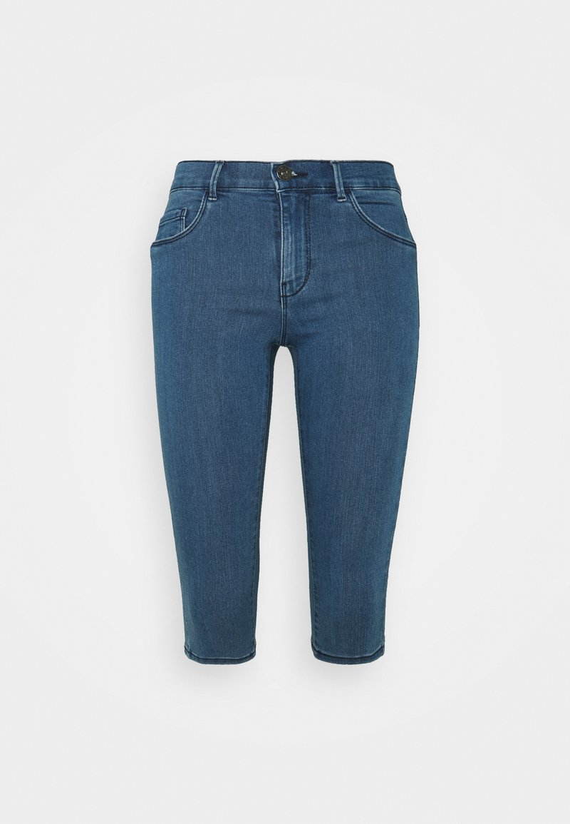 ONLY Petite - ONLRAIN SKKNICKERS - Jeans Skinny Fit - medium blue denim