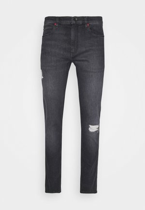 Jeansy Slim Fit - charcoal