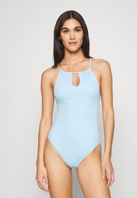 Weekday - CATCH SWIMSUIT - Swimsuit - light blue - 0