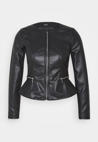 ONLY Petite - ONLJENNY JACKET PETITE - Faux leather jacket - black - 4