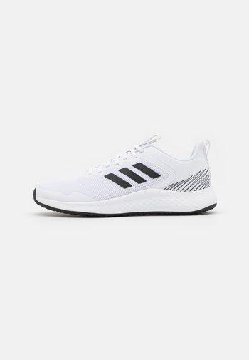 FLUIDSTREET - Sports shoes - footwear white/core black/grey five