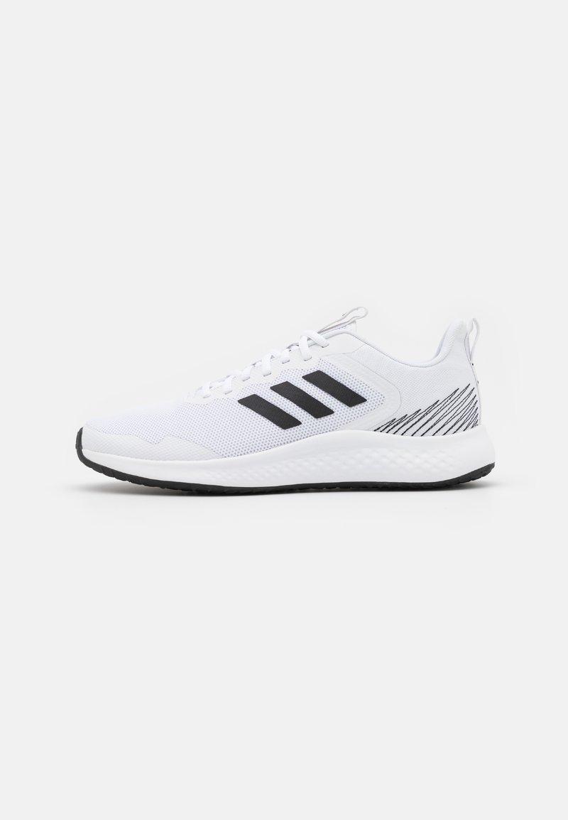 adidas Performance - FLUIDSTREET - Sportschoenen - footwear white/core black/grey five