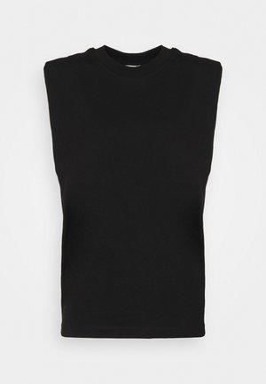 MANDA TEE - Top - black