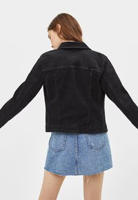 Bershka - Denim jacket - black - 2