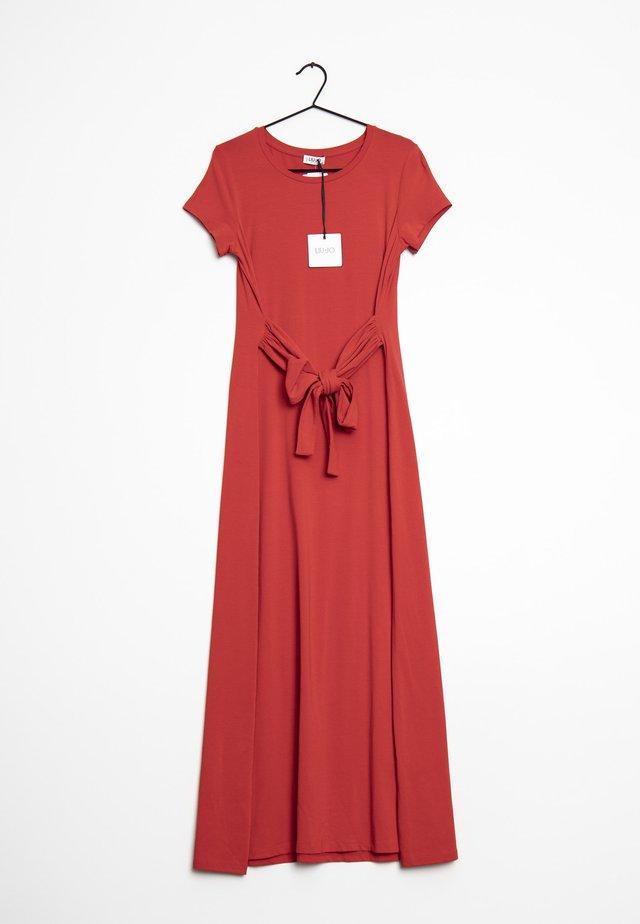 Długa sukienka - red