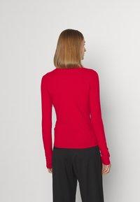 HUGO - NINELLI - Long sleeved top - dark red - 2