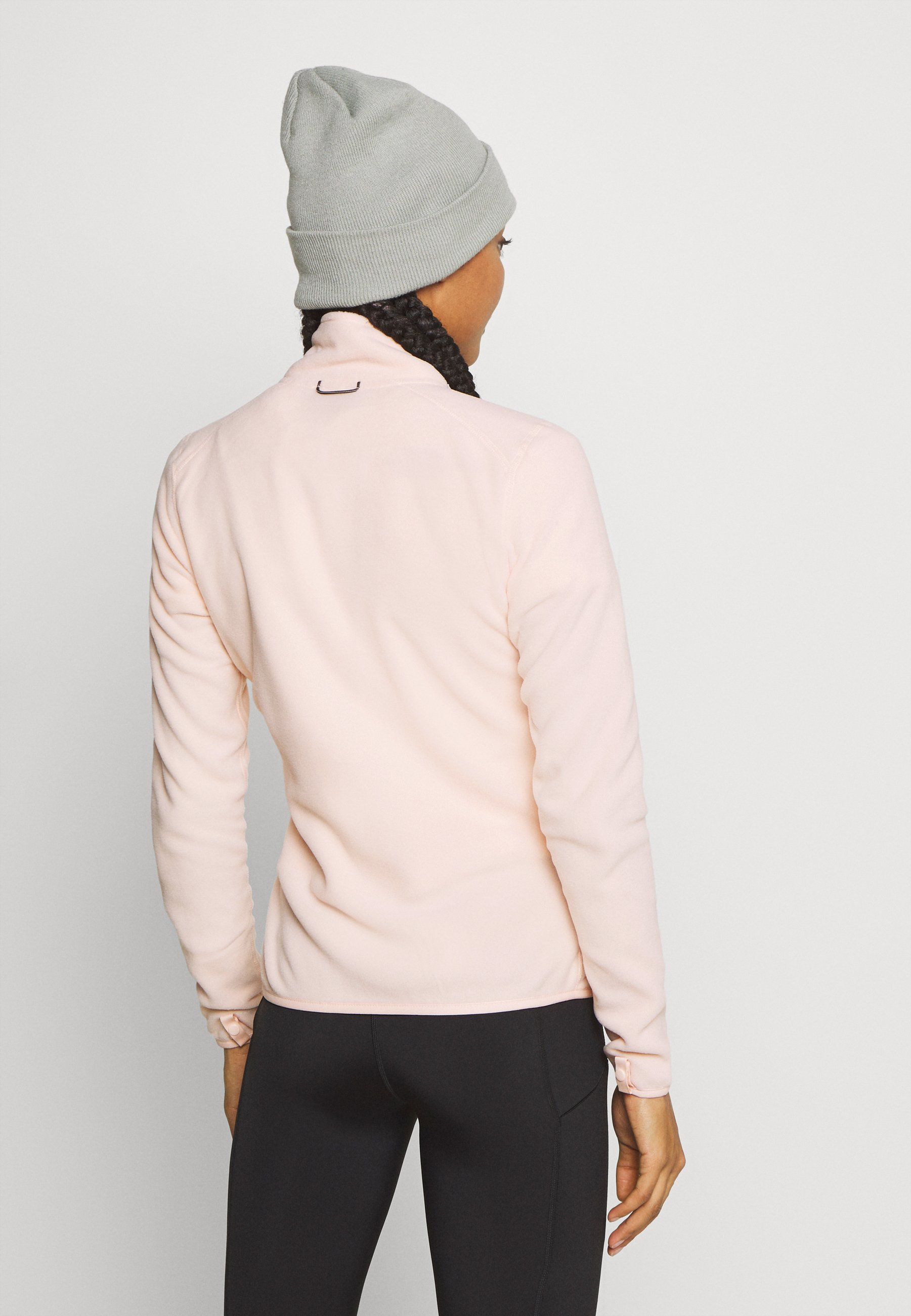 The North Face WOMENS GLACIER FULL ZIP - Fleece jacket - morning pink eurXl