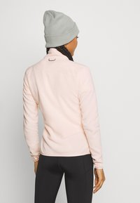 The North Face - WOMENS GLACIER FULL ZIP - Fleece jacket - morning pink - 2