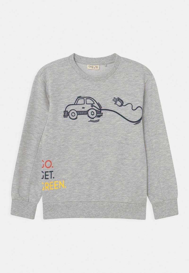 OVS - KID ROUND NECK - Sweatshirt - grey