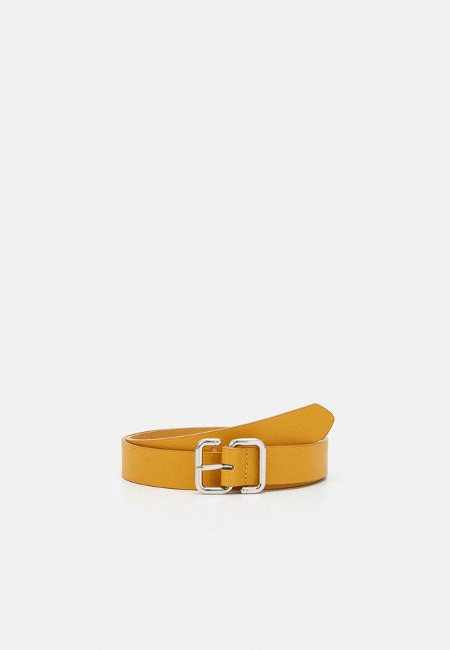 Pásek - mustard yellow