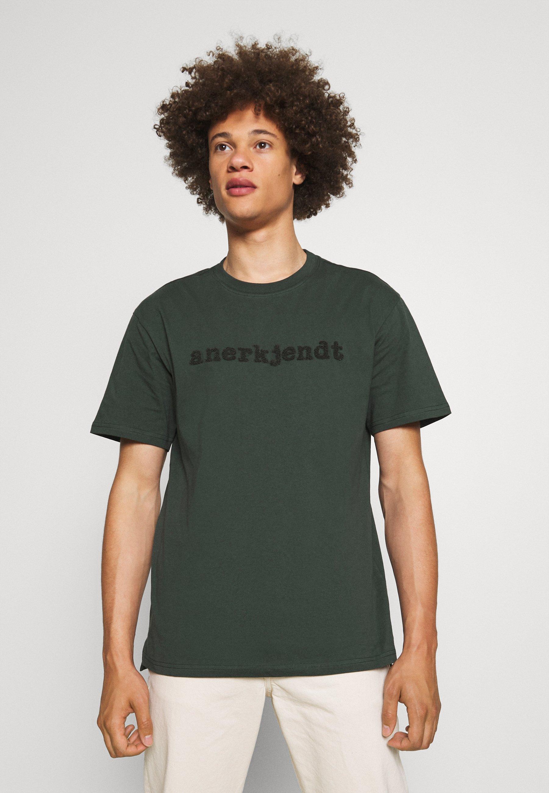 Men AKRUNE LOGO - Print T-shirt