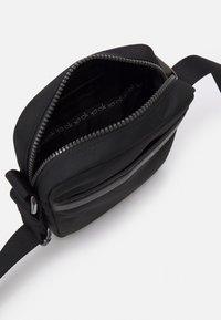 Calvin Klein - REPORTER UNISEX - Taška spříčným popruhem - black - 2