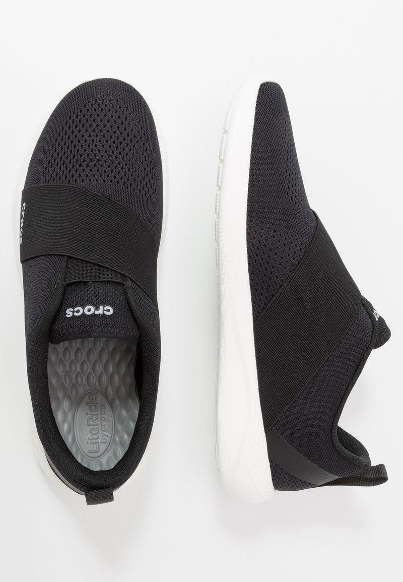 Crocs réduit-literide modform SLIP ON BLACK WHITE