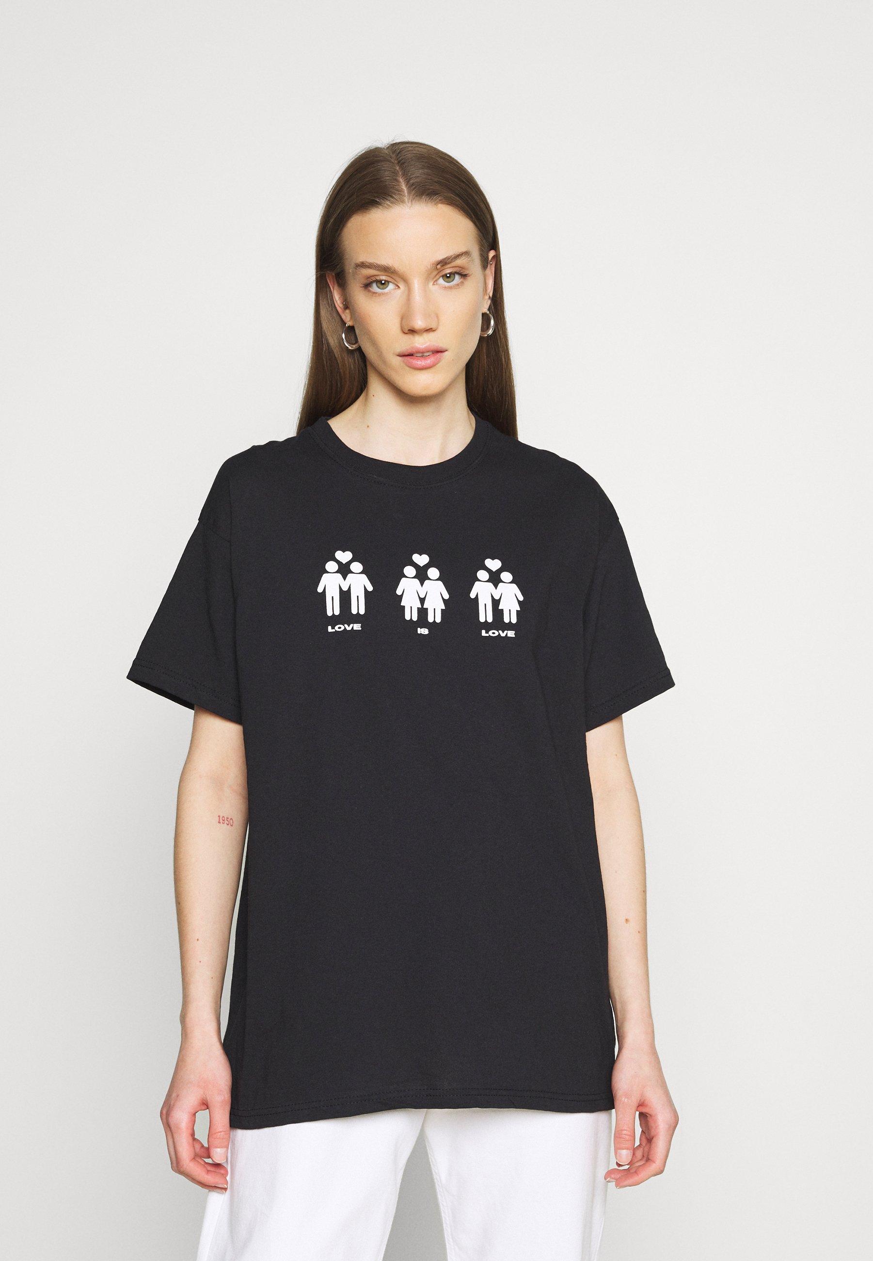 Damen LOVE IS LOVE HUMAN - T-Shirt print