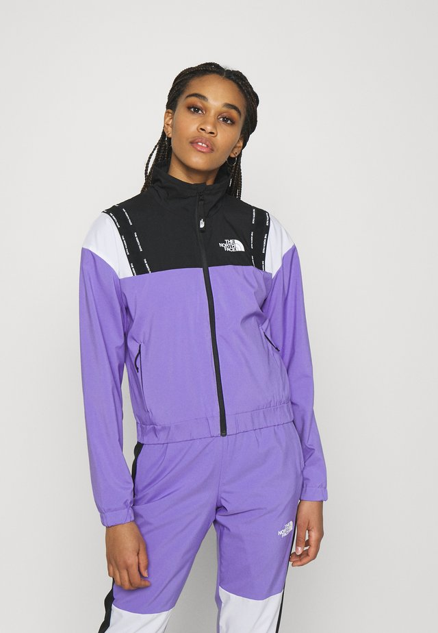 WIND JACKET - Sportovní bunda - pop purple/black