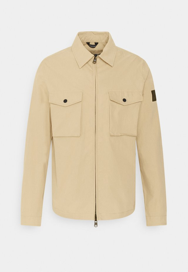 LIGHT JACKET - Summer jacket - travertine