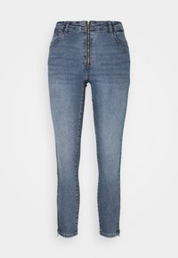Noisy May - NMKIMMY ZIP - Jeans Skinny Fit - medium blue denim - 4