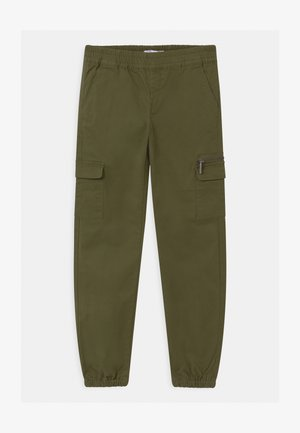 NKFRIE  - Cargo trousers - winter moss
