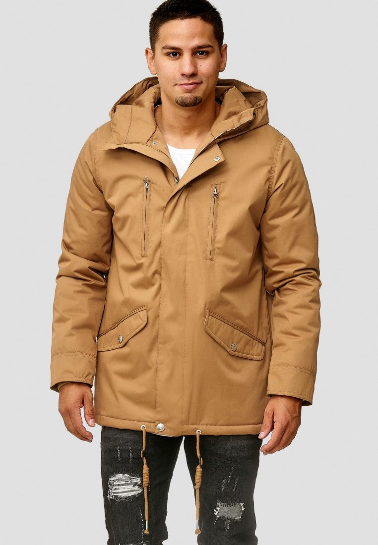 INDICODE JEANS - Winter jacket - brown