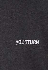 YOURTURN - UNISEX - Hoodie - black - 2