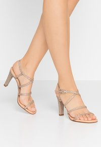 Unisa - SIMO - High heeled sandals - gold - 0