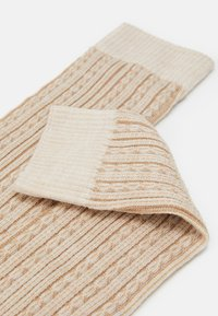 Falke - CHAIN STITCH - Leg warmers - beige - 1