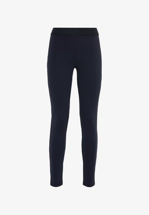 MIT GUMMIBUND - Leggings - Trousers - dunkelblau