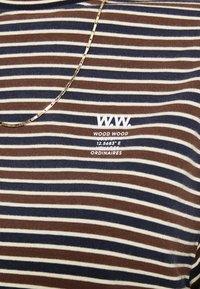 Wood Wood - ASTRID LONG SLEEVE - Langærmede T-shirts - navy - 5