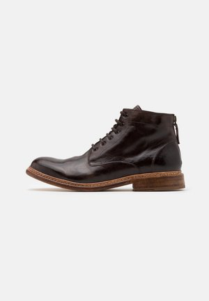 Botines con cordones - dark brown