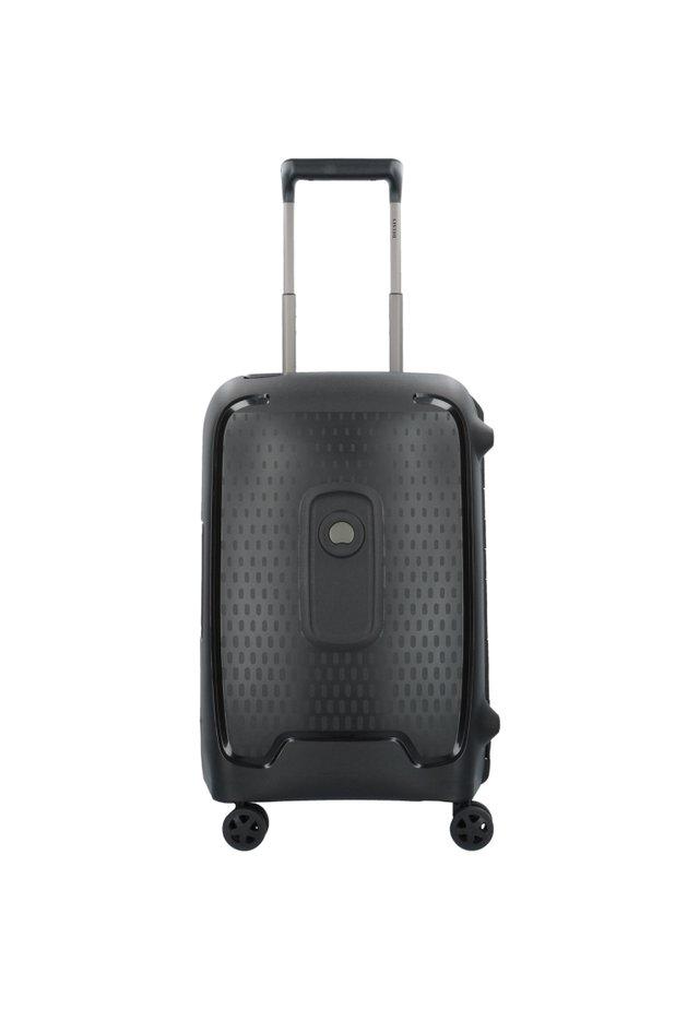 MONCEY 4-ROLLEN KABINENTROLLEY 55 CM - Wheeled suitcase - schwarz