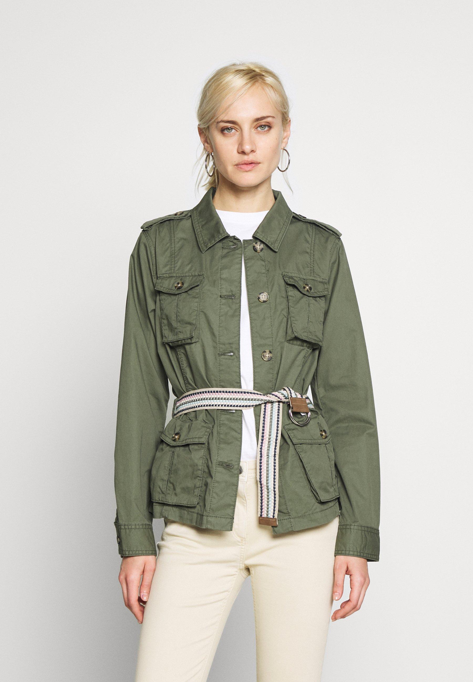 PLAY Kurtka wiosenna khaki green