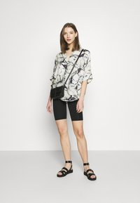 Monki - LUCA BLOUSE - Button-down blouse - marblestone - 1