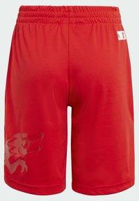 adidas Performance - ADIDAS X LEGO® NINJAGO® KAI SET - Shorts - red - 4