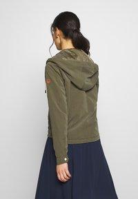 ONLY Petite - ONLNEW SKYLAR SPRING JACKET - Summer jacket - kalamata - 2