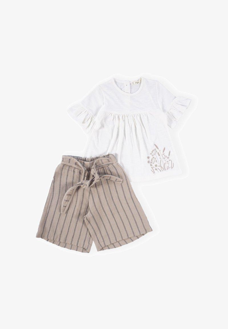 Cigit - Shorts - offwhite