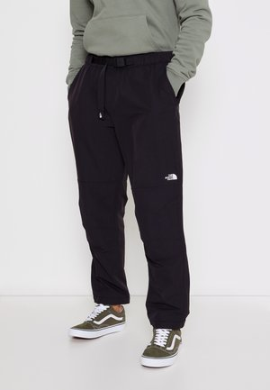 EXPLORATION CONVERTIBLE PANT - Kangashousut - black