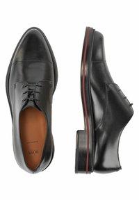 BOSS - DALLAS_DERB_LT - Smart lace-ups - black - 4