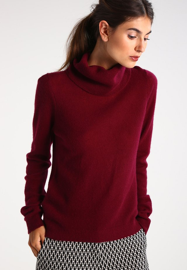 CASHMERE - Jumper - dark red